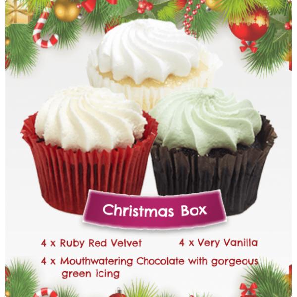 Christmas Corporate Cupcake